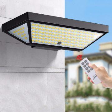 applique solaire puissante avec télécommande extérieur
