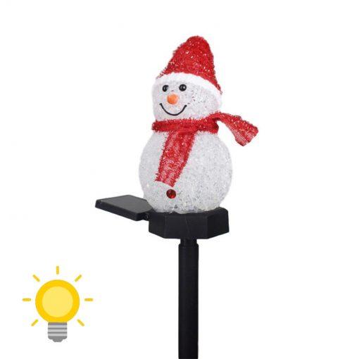 bonhomme de neige solaire