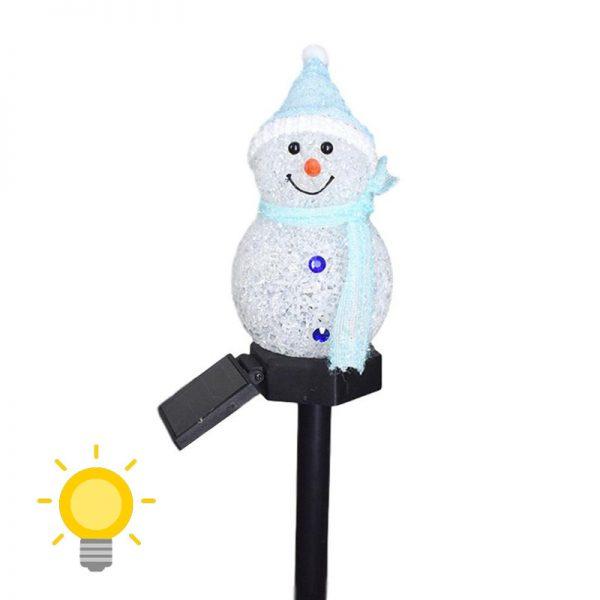 bonhomme de neige solaire achat