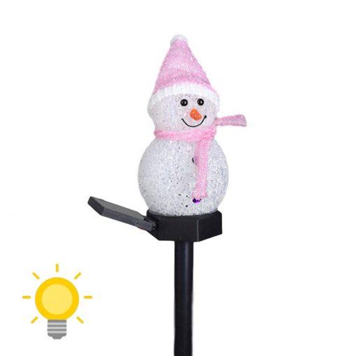bonhomme de neige solaire pas cher