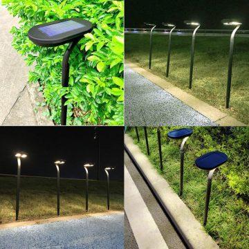 borne solaire jardin puissante autonome