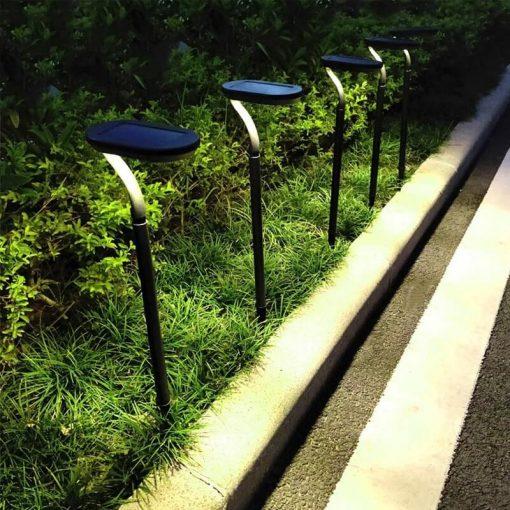 borne solaire jardin puissante led min