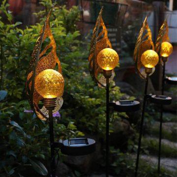 éclairage décoratif extérieur solaire autonome