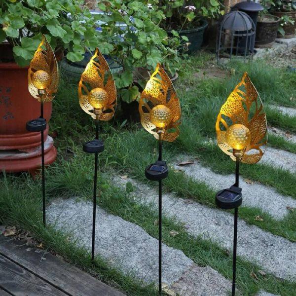 eclairage décoratif exterieur solaire jardin