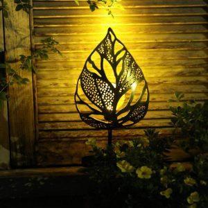 éclairage décoratif extérieur solaire led