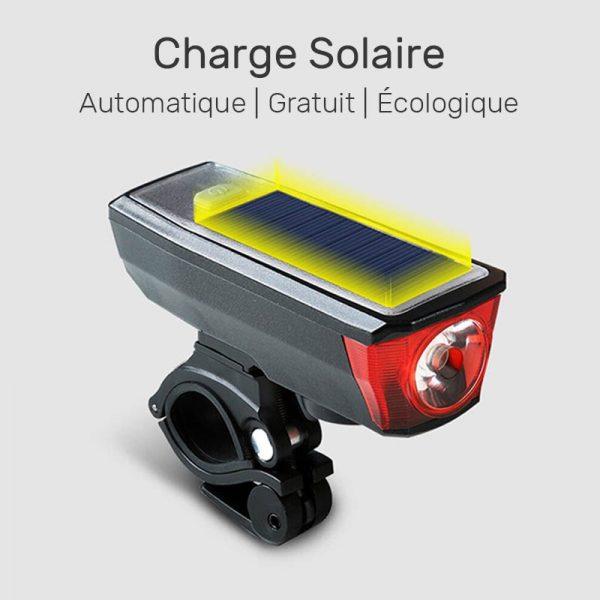 eclairage solaire pour velo achat