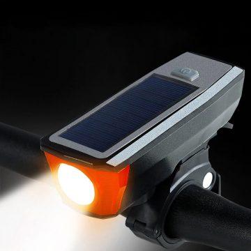 éclairage solaire pour vélo vtt