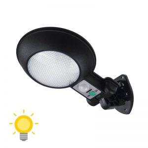 lampe solaire avec détecteur de mouvement pas cher
