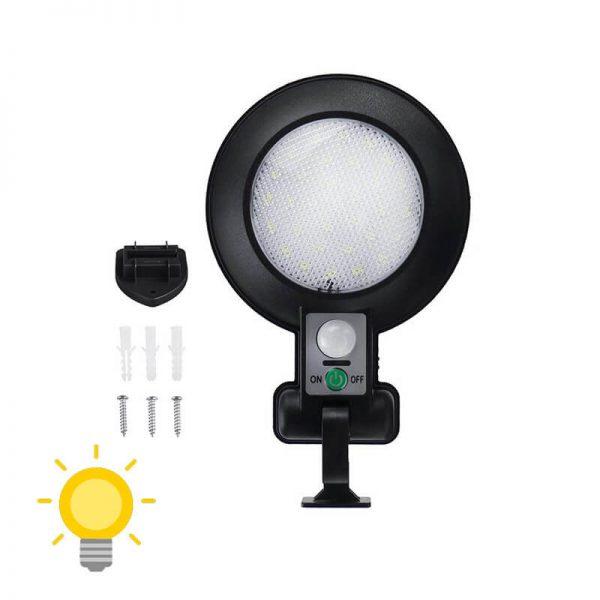 lampe solaire avec detecteur de mouvement pas cher exterieur