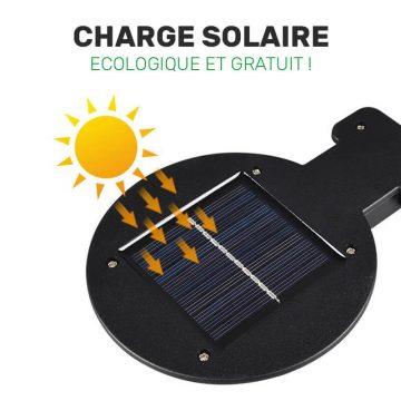 lampe solaire avec detecteur de mouvement pas cher murale