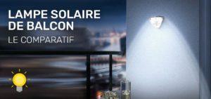 lampe solaire balcon
