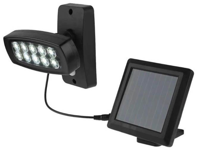 lampe solaire balcon deportée