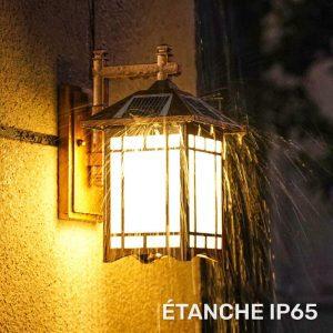 lampe solaire exterieur vintage led