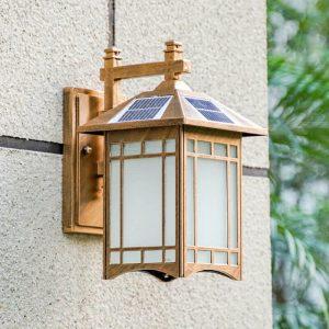 lampe solaire exterieur vintage puissante