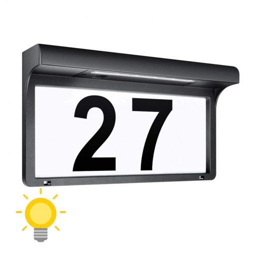 numéro de maison énergie solaire