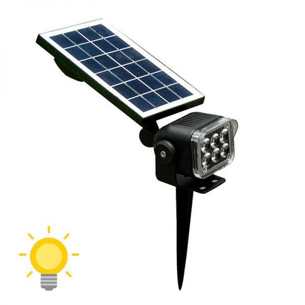 éclairage led jardin solaire