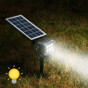 eclairage led jardin solaire puissant