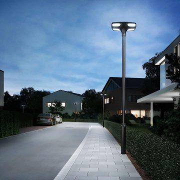 lampadaire solaire pour lotissement etanche