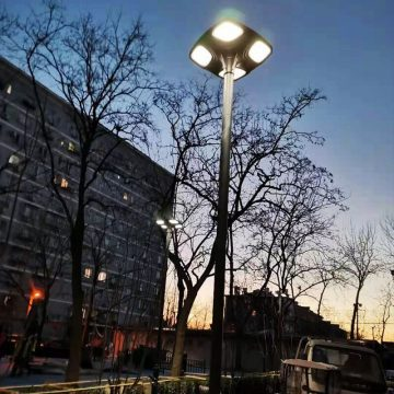 lampadaire solaire pour lotissement led