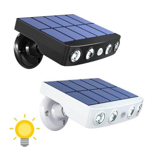 lampe radar extérieur solaire