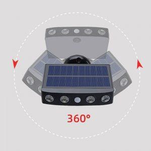 lampe radar exterieur solaire jardin