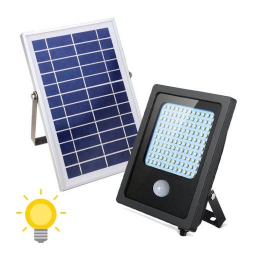 projecteur led extérieur solaire avec détecteur