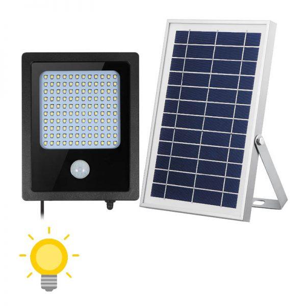 projecteur led extérieur solaire avec détecteur autonome