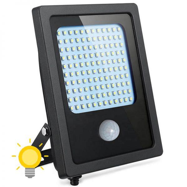 projecteur led extérieur solaire avec detecteur de mouvement