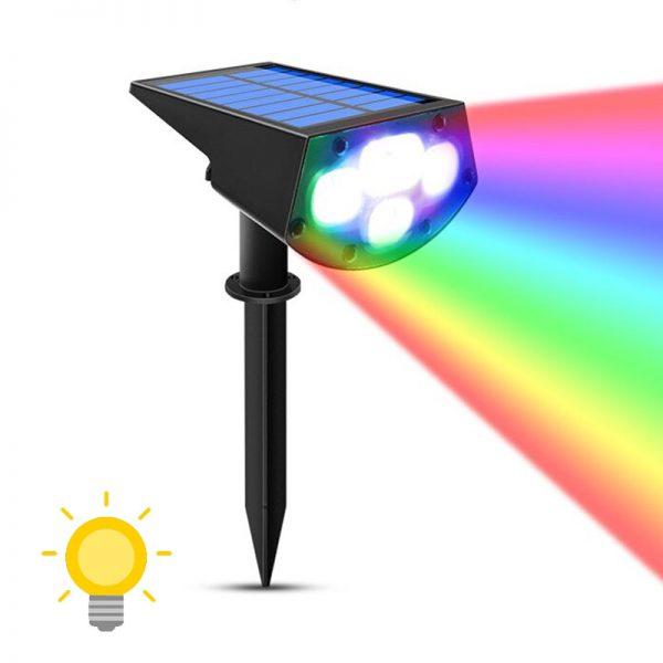 spot led extérieur couleur solaire