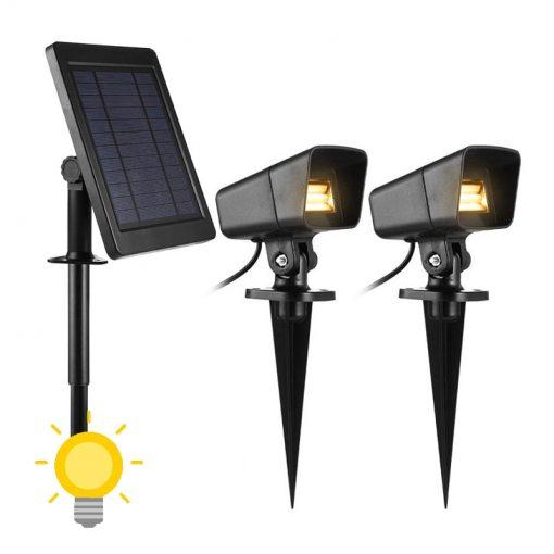 spot solaire puissant extérieur