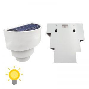 applique solaire exterieur avec interrupteur led