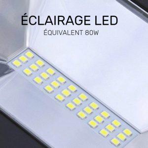 eclairage led exterieur solaire puissant autonome