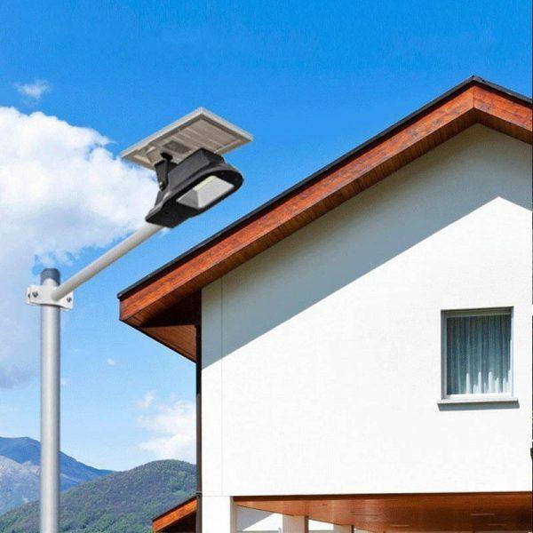 eclairage led extérieur solaire puissant lampadaire