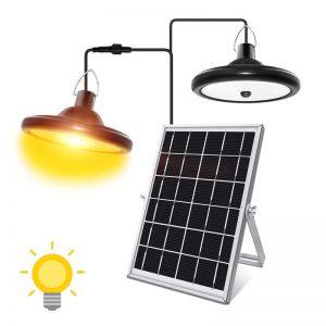 eclairage pergola solaire