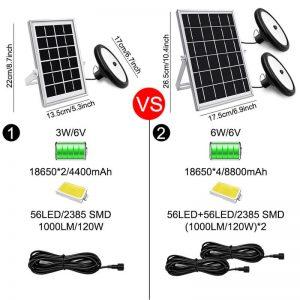 eclairage pergola solaire exterieur