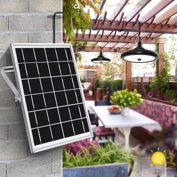 eclairage pergola solaire led
