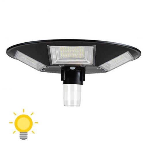 lampadaire solaire avec détecteur