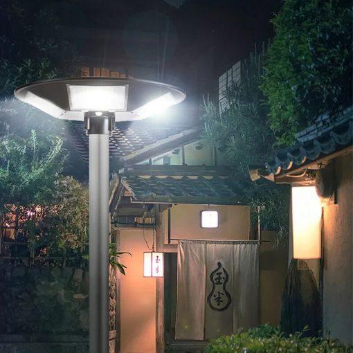 lampadaire solaire avec detecteur autonome