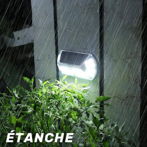 lampe automatique solaire ETANCHE