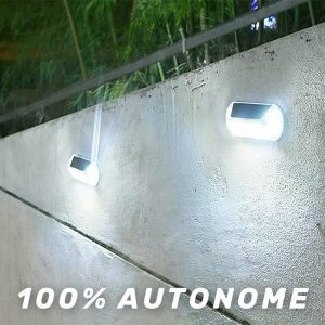 lampe automatique solaire LED