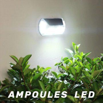 lampe automatique solaire puissante