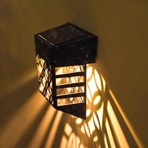 lampe deco exterieur solaire led