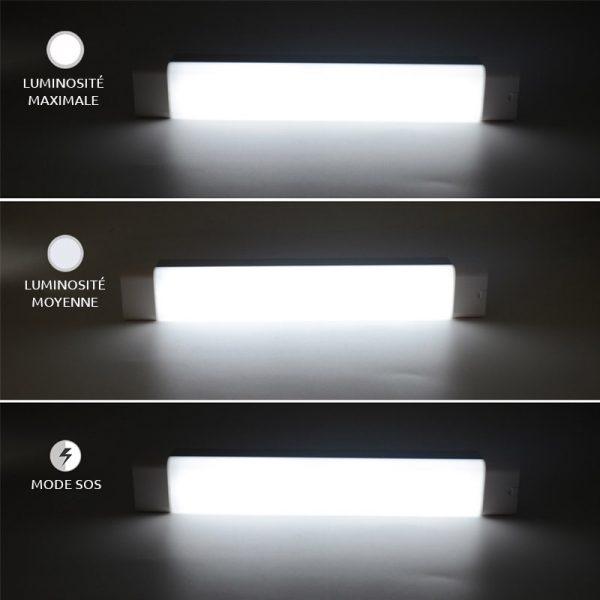 lampe solaire aimanté puissante