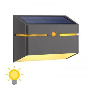 lampe solaire applique murale