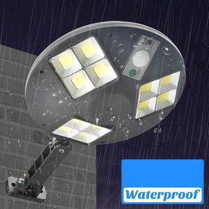 lampe solaire noire LED