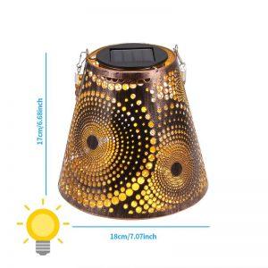 lanterne solaire pour terrasse puissante