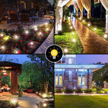 lumiere deco exterieur solaire jardin