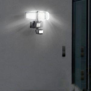 projecteur led avec detecteur de mouvement solaire terrasse