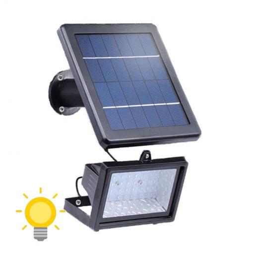 projecteur lumineux solaire