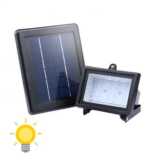 projecteur lumineux solaire exterieur